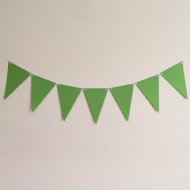 Green Wedding and Party Bunting - 4 Meter Kit